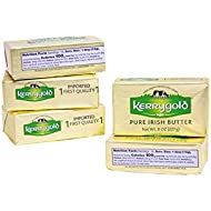 Kerrygold Salted Butter, 8 Oz Foil Pack (Pack Of 5)