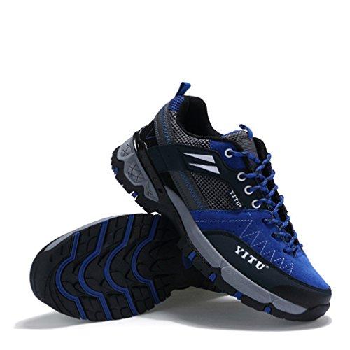 Unisex adulto botas bajo de Azul XIGUAFR caño qwvISXf