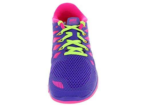 Nike  Free 5.0 (Gs) - Zapatillas para niñas Mehrfarbig (Hyper/Traube/Pink)