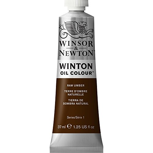 Winsor & Newton Winton Oil Colour Tube, 37ml, Raw (Newton Oil Colour)