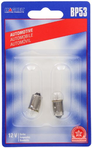 Wagner Lighting BP53 Miniature Bulb - Card of 2