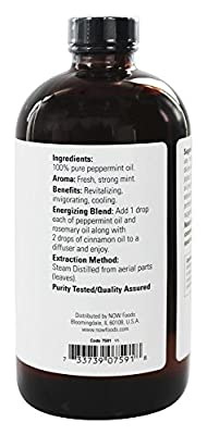 NOW Foods - Peppermint Oil - 16 oz.