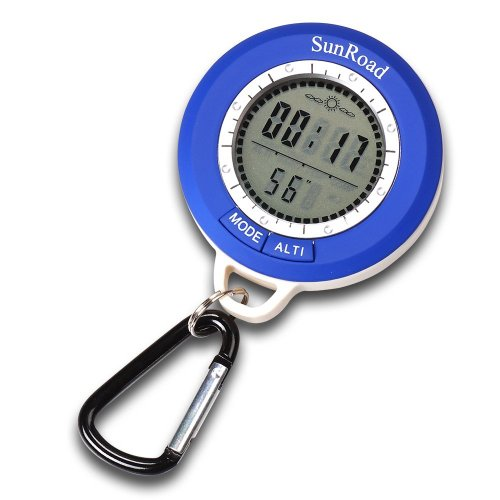Emperor of Gadgets 6-in-1 Multifunction Mini Digital Compass and Altimeter for Outdoor Sports