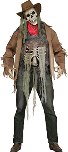 Fun World Men's Dead or Alive Costume, Brown Standard ()