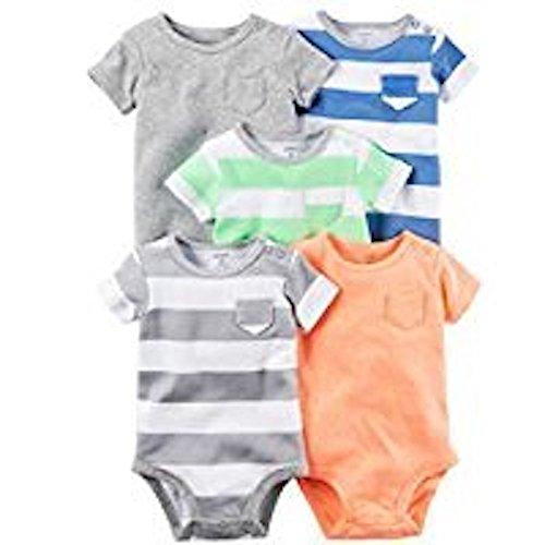 Carters Preemie Bodysuits Shirt Sleeves
