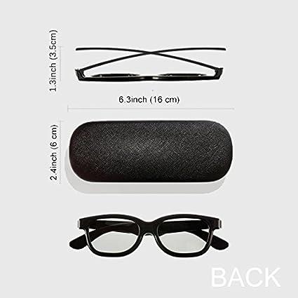 DIYthinker Damen Brillenetui Brillen Muschel-Shell-Halter-Aufbewahrungsbeh/älter