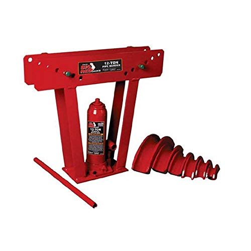 Big Red Torin Hydraulic Pipe/Tube Bender with 6 Cast Dies, 12 Ton (24,000 lb) Capacity