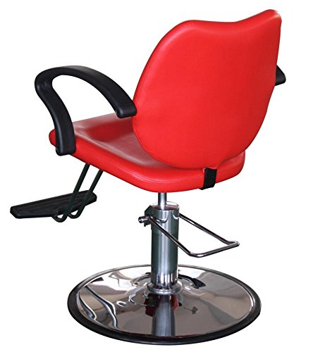 FlagBeauty Hair Beauty Salon Equipment Hydraulic Barber Styling Chair (red) by flag beauty (Image #5)