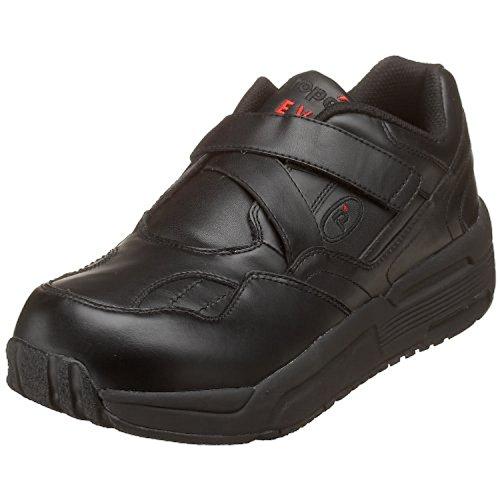 Propet Mens PedWalker 25 Shoe Black 11.5 X (3E) & Oxy Cleaner Bundle UCosBDZ