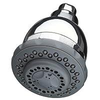 Culligan WSH-C125 Cabezal de ducha filtrado de pared con masaje, acabado en cromo