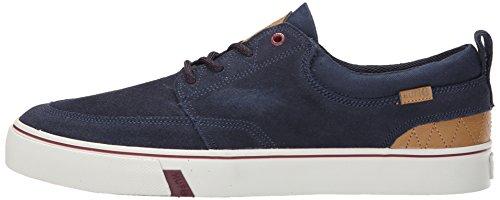 HUF Skateboard Shoes RAMONDETTA NAVY/WINE