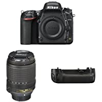 Nikon D750 FX-Format DSLR Camera with 18-140mm Lens Battery Bundle