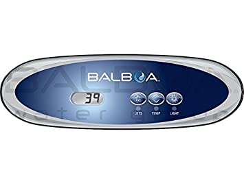 Balboa Hot Tub >> Hot Tub Spa Balboa Topside Control Panel Vl260 54685 Amazon Co Uk