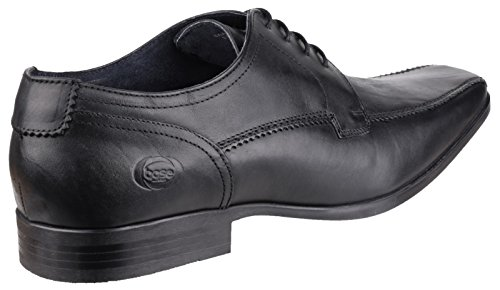 Lytham London Black Laced Mens Excel Shoe Base Waxy 5RUqfwx