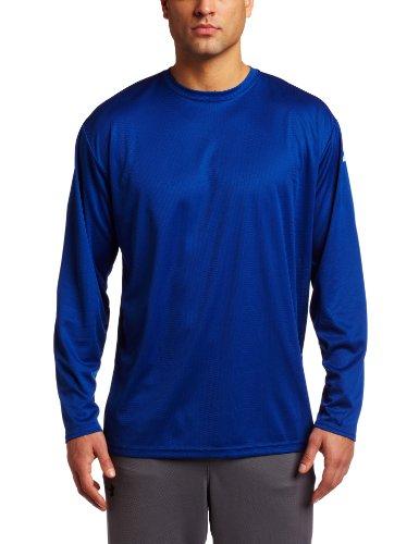 ASICS Men's Circuit 7 Warm-Up Long Sleeve Shirt (Royal, ()
