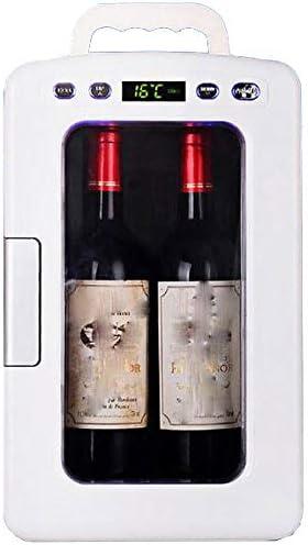 ミニ冷凍庫ポータブル,ミュートポータブル温度調節温度表示エコタイプール寒くて暖ー省エネクーラーボックス冷却ボックス冷蔵庫車載冷蔵冷凍庫12V220V-のためにベッドルームバー車載旅行事務所寮アウトドアキャンプ