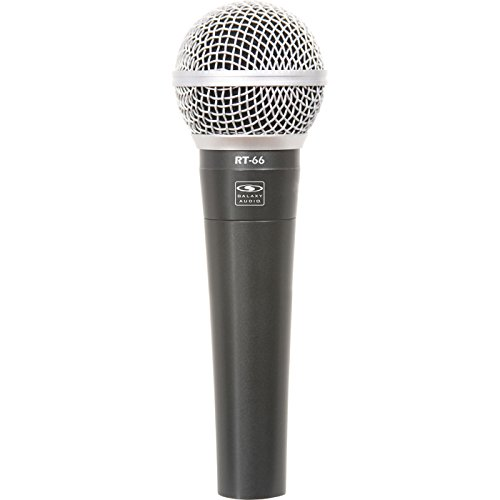Galaxy Audio RT66X Wired Handheld Microphone XLR Male to Female (Handheld Wired Microphone)
