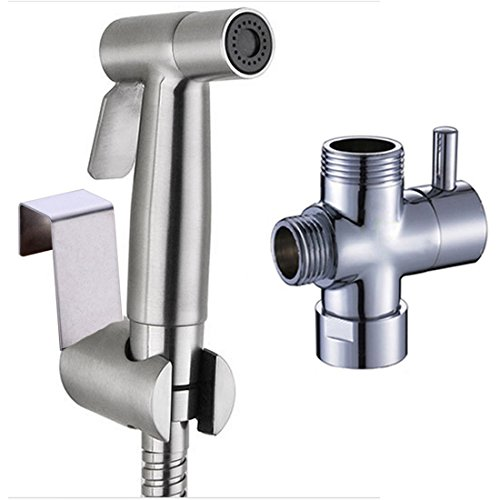 Ownace Hand Held Bidet Sprayer Premium Stainless Steel Diaper Sprayer Shattaf Complete Set for Toilet low-cost
