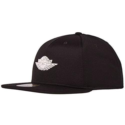 Nike Jordan Wings Strapback Cap, Black/White 875117-010
