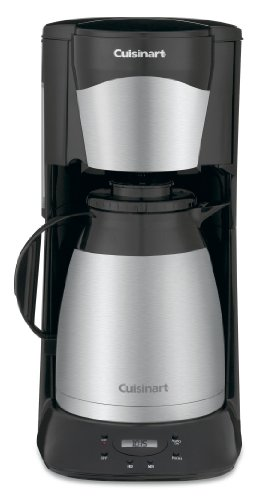 Cuisinart DTC-975BKN Thermal 12-Cup Programmable Coffeemaker Black