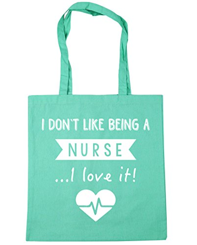 Tote 10 Mint Nurse Don't Beach It x38cm A litres I Being Shopping 42cm Bag Gym Love I Like HippoWarehouse Uz1qa4X