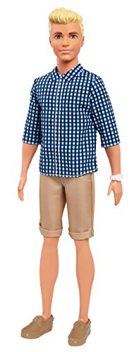 Barbie Ken Fashionistas Preppy Check Doll (And Barbie Ken Doll)