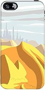 Snoogg Desierto Del Sahara Digitales 2483 Diseñador De Protección De Nuevo Ca...