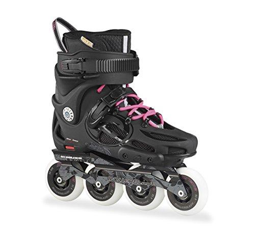 Rollerblade Inlineskate Twister 80 W – Patines en línea, color negro, talla 37 (talla fabricante: 235)