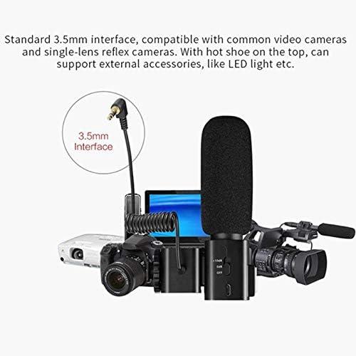 Camera Microphone CM520 External Microphone Super Cardioid Uni-diectivity Electret Condenser Mic for Canon Nikon Hot Shoe