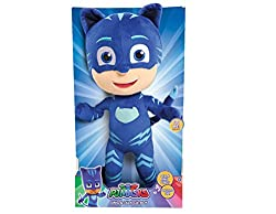 Just Play Pj Masks Sing & Talk Plush Catboy, Blue