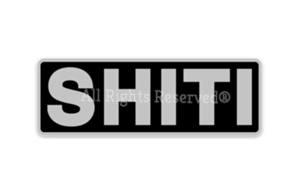 SHITI Coolers Brand Sticker