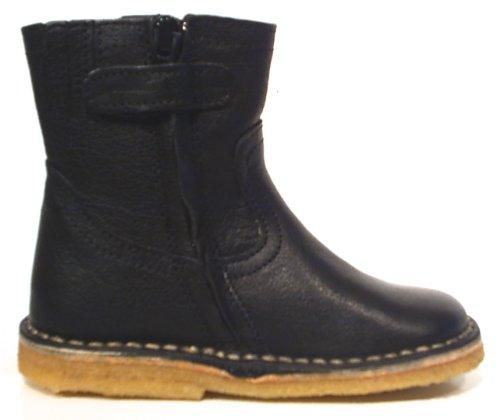 Pinocchio unisex Stiefel Chelsea Boots Leder schwarz
