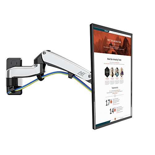 30 Articulating Wall Mount (North Bayou TV Wall Mount Bracket Full Motion Articulating Swivel for 30-40 Inch LED Plasma Flat Screen with Weight Capacity 11lbs to 22lbs)