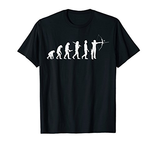 (Funny archery evolution t-shirt gift for archers)