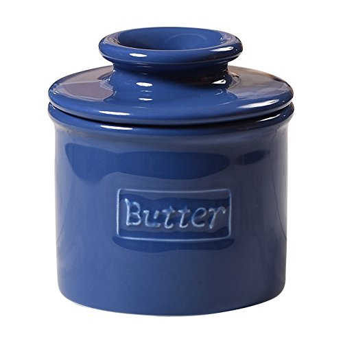 Durable Original Flavor (The Original Butter Bell Crock by L. Tremain, Cafe Retro Collection - Royal Blue)