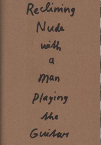 Marijn Van Kreij - Reclining Nude with A Man Playing the - Nude Dutch Men