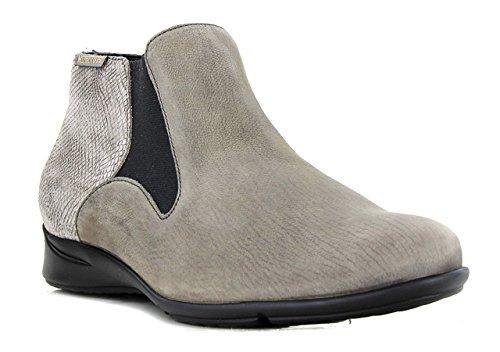 Boots Femme VAHINA Bottines MEPHISTO Pewter 8qzUnE