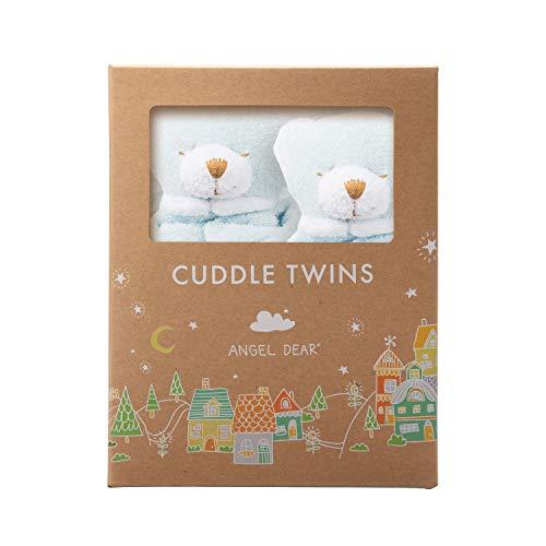 Angel Dear Cuddle Twins Blankie, Blue ()