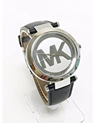 Michael Kors Silver Tone Logo Womens Watch
