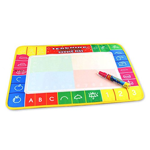Andouy New Water Drawing Painting Writing Mat Board Magic Pen Doodle Gift 29X19cm