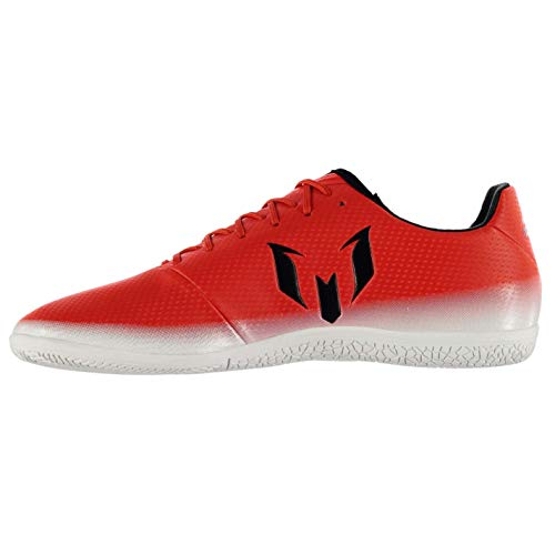Baskets 3 Rouge 16 Chaussures Football BK pour Adida Fusbal Homme WH Messi nbsp;Indoor de ZqIBB4