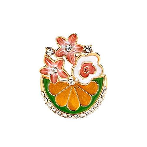 GoodLock(TM) Clearance Sale!!  Drip Brooch for Women  Umbrella Environmentally Friendly Alloy Jewelry Best Gifts Wholesale (B)