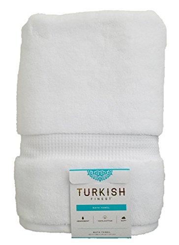 Luxury Turkish Finest Cotton Bath Towel 770 GSM White
