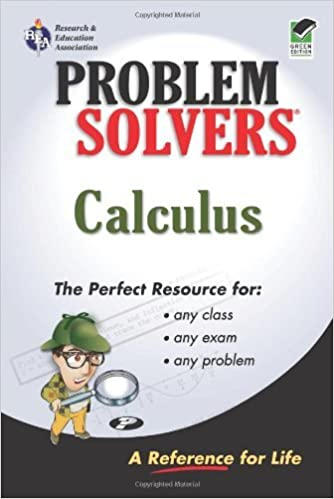 Calculus Problem Solver (Problem Solvers Solution Guides) by Editors of REA Calculus Study Guides (1998-01-01)