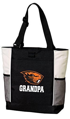 Broad Bay OSU Beavers Grandpa Tote Bags Oregon State Grandpa Totes Beach Pool Or Travel