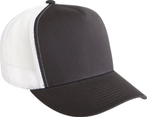 Flexfit Adjustable Snapback Classic Trucker Hat by 6006 (Snapback Cap Charcoal)