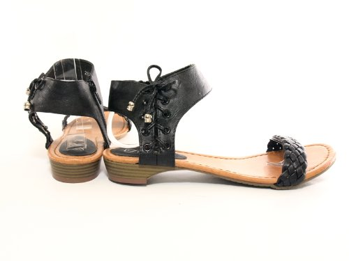 Damen Sandalen Sandalette Schwarz # 2825