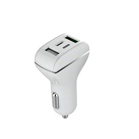 Liuliangmei Cargador de Coche USB Tipo C 18 W Power Delivery ...