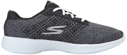 Sneaker White Skechers Go Performance Lace Up Walk Black Exceed 4 Women's Oq8OZwv