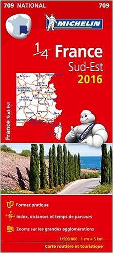 France Sud-Est : 1 : 500 000 (National): Amazon.es: Michelin: Libros en idiomas extranjeros